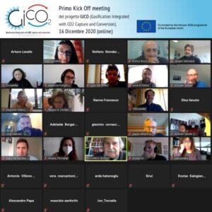 GICO International kick off meeting